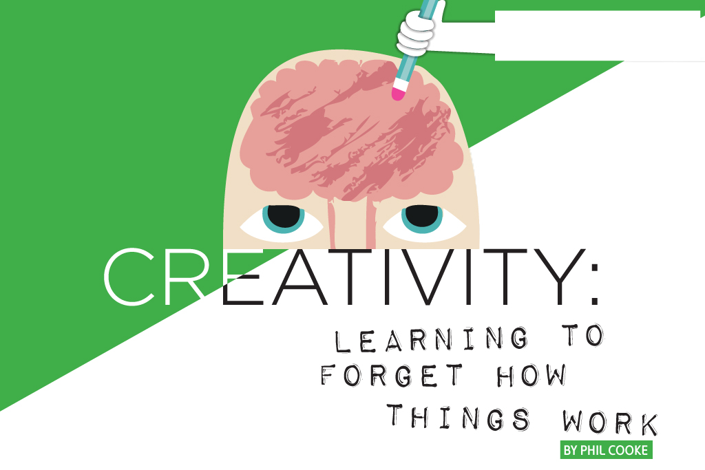 Creativity: Learning to Forget How Things Work
