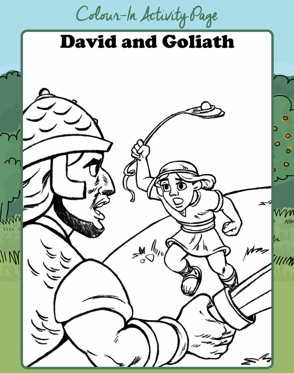 Colour-In Activity  Page