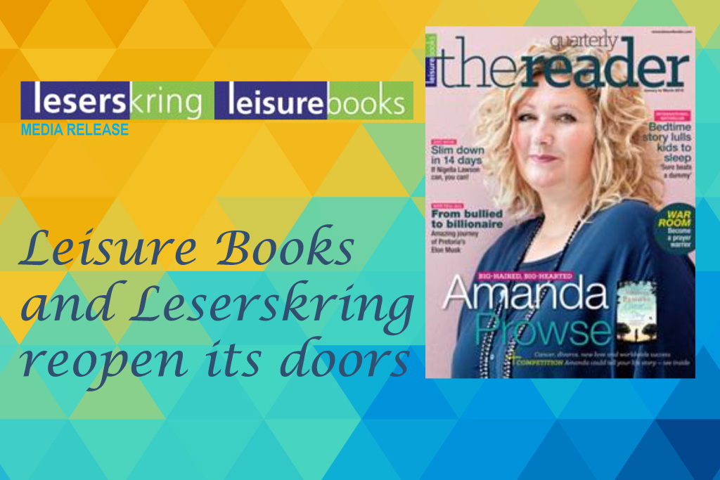 Leisure Books and Leserskring reopen