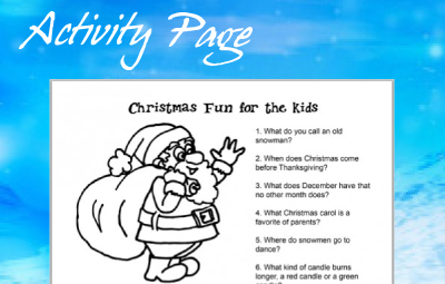 Faith Kids Activity